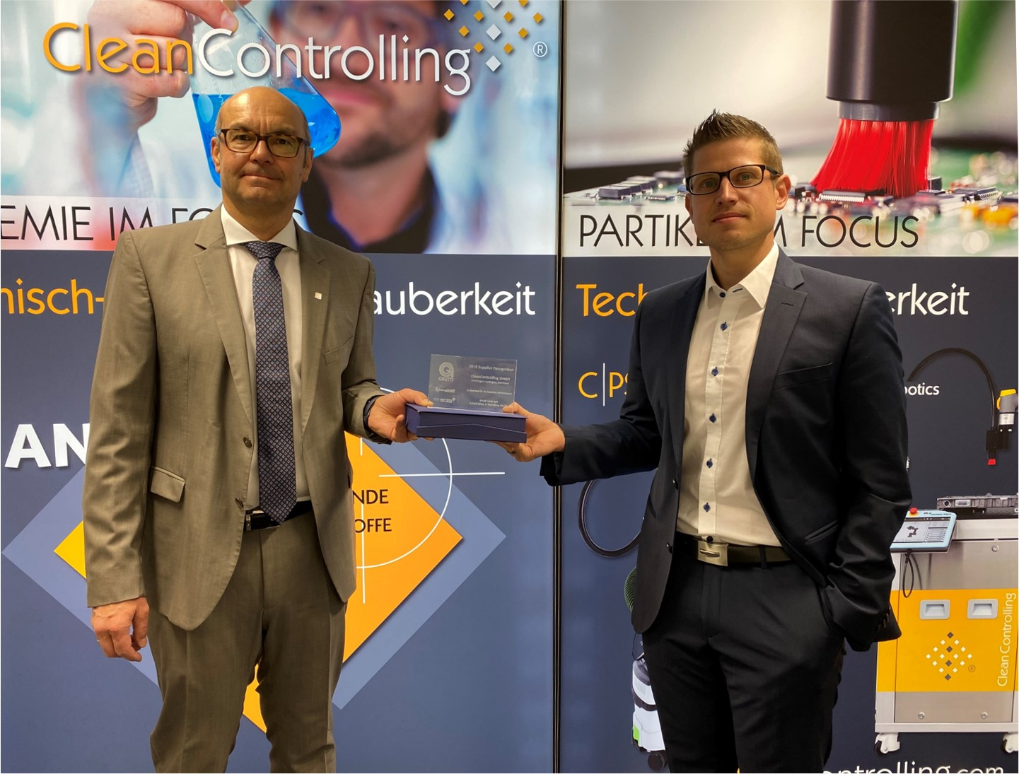 CleanControlling erhält den Gnutti Carlo S.p.A - Supplier Award